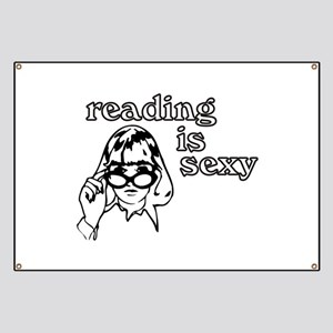 Reading is Sexy Banner