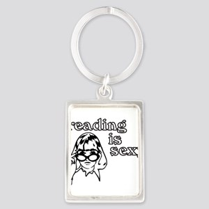 Reading is Sexy Keychains