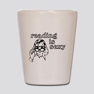 Reading is Sexy Shot Glass