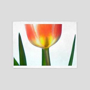 Tulip (Tulipa sp.) 5'x7'Area Rug