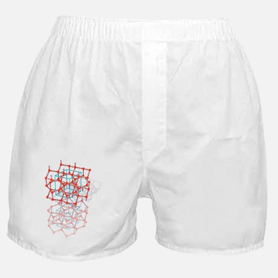 Tridymite crystal structure Boxer Shorts