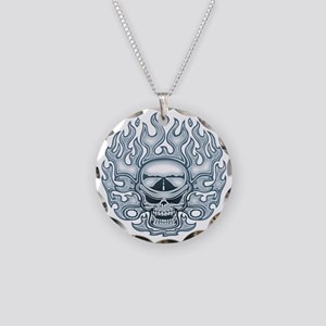 Chromeboy -WF Necklace Circle Charm