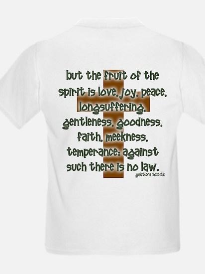 Galatians 5:22-23 Kids T-Shirt