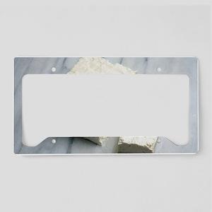 Tofu License Plate Holder