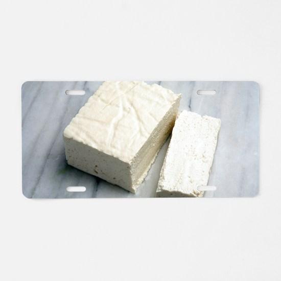 Tofu Aluminum License Plate