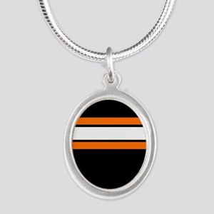 Team Colors 2...Orange,white and black Necklaces