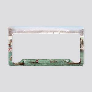 Tower of London, historical a License Plate Holder