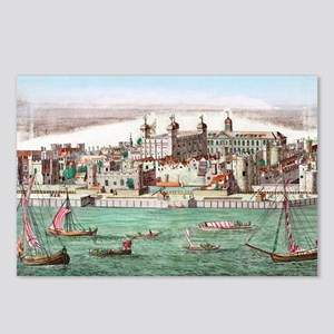 Tower of London, historic Postcards (Package of 8)