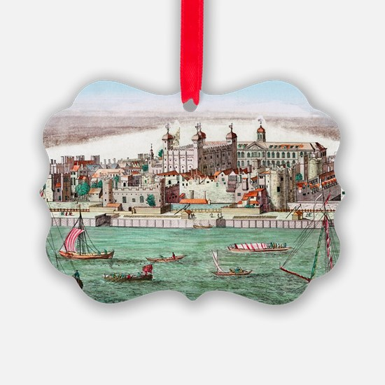 Tower of London, historical artwo Ornament