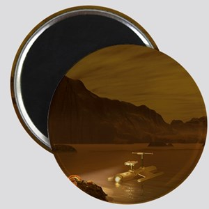 Titan exploration, artwork Magnet