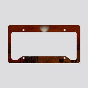 Titan exploration, artwork License Plate Holder