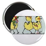 Easter Chicks on Parade Magnet