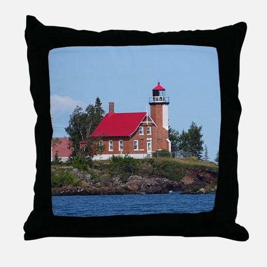 Eagle Harbor Throw Pillow