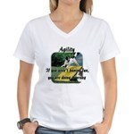 Agility Fun! Women's V-Neck T-Shirt
