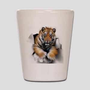 Tiger, artwork Shot Glass