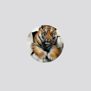 Tiger, artwork Mini Button