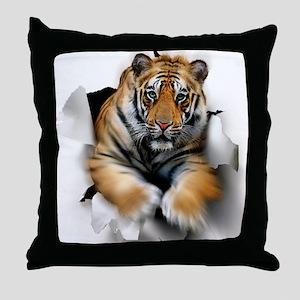 Tiger, artwork Throw Pillow