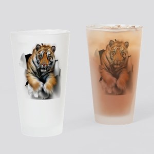 Tiger, artwork Drinking Glass
