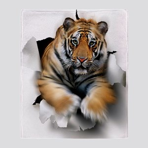 Tiger, artwork Throw Blanket
