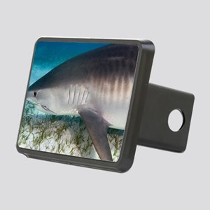 Tiger shark Rectangular Hitch Cover