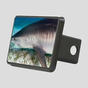 Tiger shark Rectangular Hitch Cover
