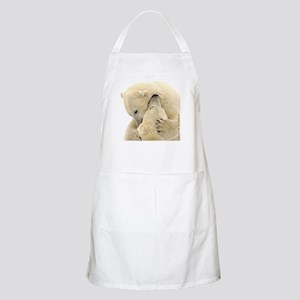 Polar Bear Hugs BBQ Apron