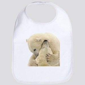 Polar Bear Hugs Bib
