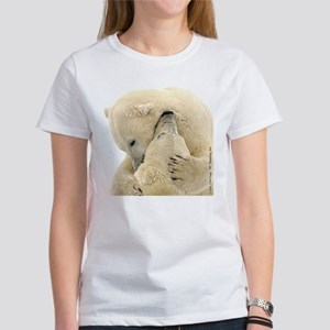 Polar Bear Hugs Women's T-Shirt