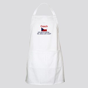Good Looking Czech BBQ Apron