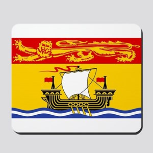 New Brunswick Flag Mousepad