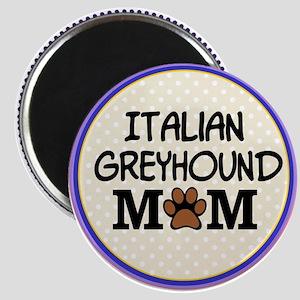 Italian Greyhound Dog Mom Magnets