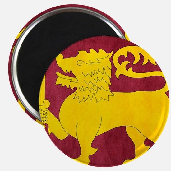 Sri Lanka Lion Cricket Magnet