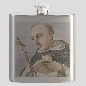 Thomas Aquinas, Italian theologian Flask