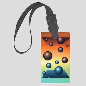 Thermodynamics, conceptual artwo Large Luggage Tag