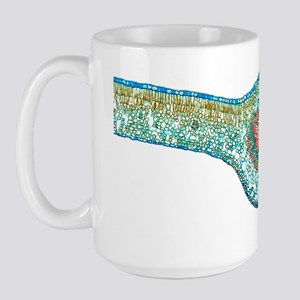 Tea leaf, light micrograph Large Mug