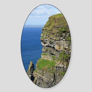 Cliffs of Moher Sticker (Oval)