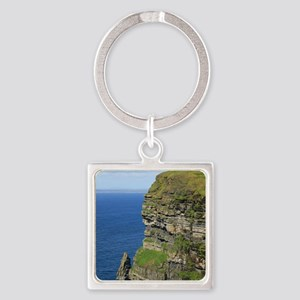 Cliffs of Moher Square Keychain