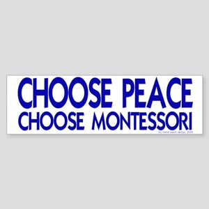 Choose Peace Bumper Sticker