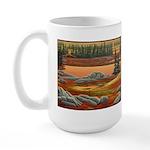 Polar Bear Art 15 oz Ceramic Large Mug