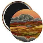 """Polar Bear Art 2.25"""" Magnet (100 pack)"""