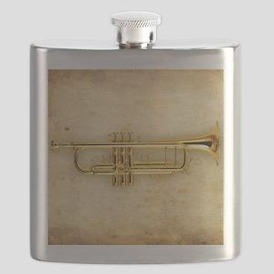 Trumpet (square) Flask