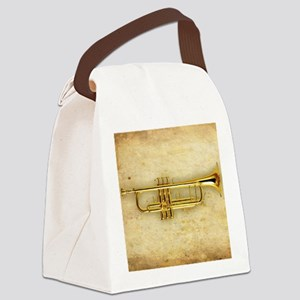 Trumpet (square) Canvas Lunch Bag