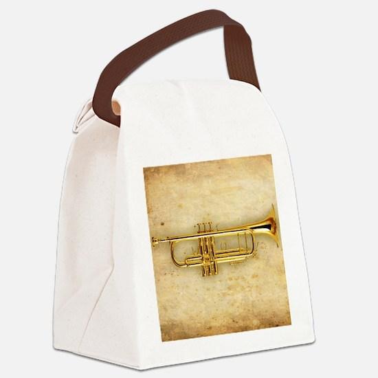 Trumpet (square) Canvas Lunch Bag