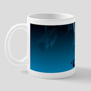 Surveillance, conceptual image Mug
