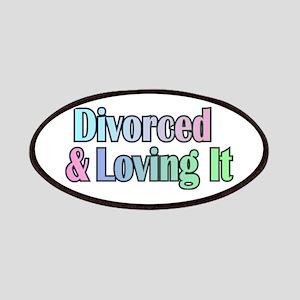 just divorced Happy Divorce Patch