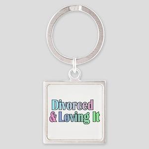 just divorced Happy Divorce Keychains