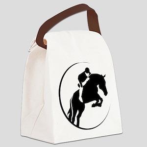 gvHorse245 Canvas Lunch Bag