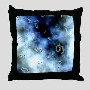 Superstrings, conceptual artwork Throw Pillow