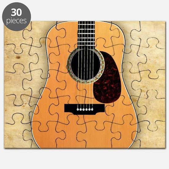 Acoustic Guitar (square) Puzzle