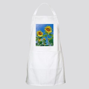 Sunflowers (Helianthus sp.) Apron